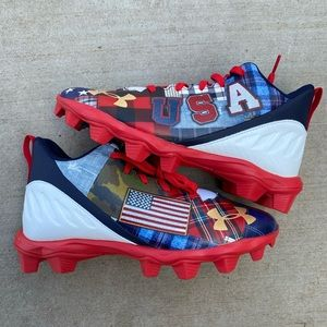 U.S.A under armour cleats